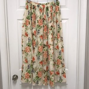 Coldwater Creek BOHO skirt